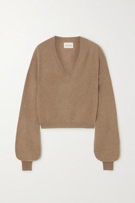 LOULOU STUDIO Fangatau Cashmere Sweater - Camel