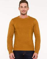 Le Château Wool Blend Popcorn Stitch Sweater