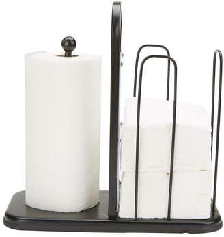 Mind Reader Paper Towel and Napkin Holder, Storage Organizer, Countertop