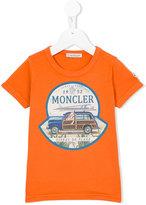 Moncler logo print T-shirt - kids - Cotton - 6 yrs