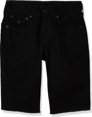True Religion Men's Ricky Straight Leg fit Short with Back Flap Pockets