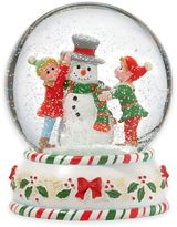 Kathy Ireland Home® by Gorham Once Upon a Christmas Elves Snowglobe