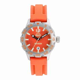 Kappa Womens Analogue Quartz Watch with Rubber Strap KP-1401L-B