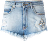 Marcelo Burlon County of Milan Ceth denim shorts