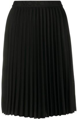 Moncler Pleated Mid-Length Skirt