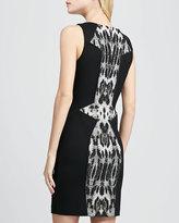 Rebecca Minkoff Moulin Printed-Inset Dress