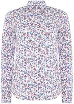 Gant Mini Floral Shirt In Stretch Broadcloth