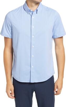 Rhone Commuter Short Sleeve Button-Up Performance Shirt