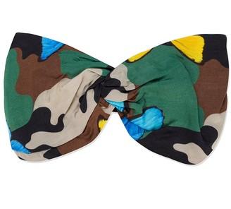 Mc2 Saint Barth Kids Camouflage-Print Twisted Hairband