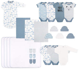 The Peanut Shell The Baby Unisex Essentials Gift Set, 23-Piece