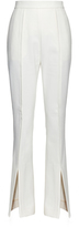 Marni Open-cuffs cotton and wool-blend flared trousers