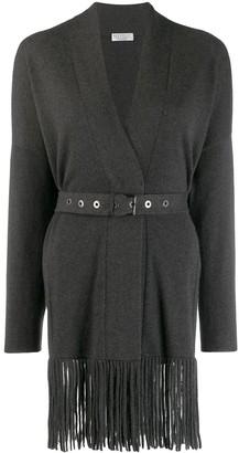 Brunello Cucinelli Belted Cashmere Cardi-Coat