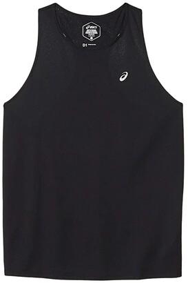 Asics Race Sleeveless (Performance Black) Women's Clothing