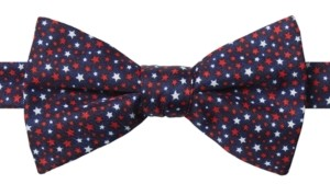 Tommy Hilfiger Men's Stars Bow Tie