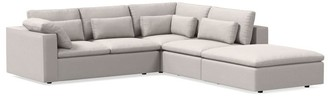 west elm Harmony Modular 4-Piece Sectional