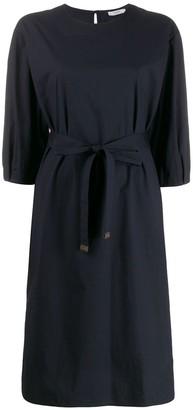 Peserico Belted Shirt Dress