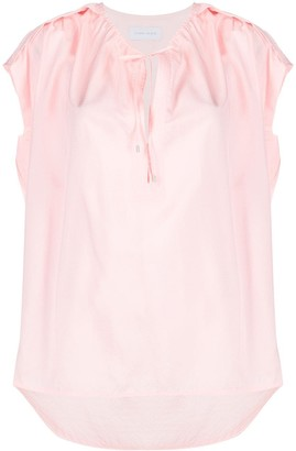 Christian Wijnants Tapanga short-sleeve blouse