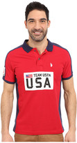 U.S. Polo Assn. Sporty Authentic Slim Fit Pique Polo Shirt