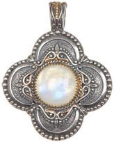 Konstantino Sterling Silver & 18K Gold Labradorite Cross Pendant