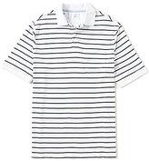 Roundtree & Yorke Supima Cotton Short-Sleeve Stripe Polo Shirt