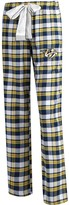 Unbranded Women's Concepts Sport Navy Nashville Predators Plus Size Piedmont Flannel Pants