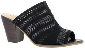 Bella Vita Koraline Block Heel Slide Sandals Women Shoes