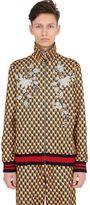 Gucci Shutter Print Techno Jersey Track Jacket