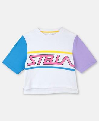 Stella McCartney sport t-shirt with logo print