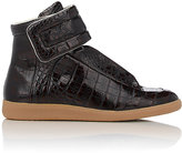 "Maison Margiela Men's ""Future"" Ankle-Strap Sneakers-BROWN"
