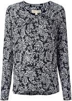 MICHAEL Michael Kors floral print top - women - Silk/Cotton - S