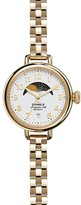 Shinola Birdy Moonphase Bracelet Watch, 34mm