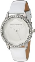 French Connection Women's FC1215WA Evelyn Analog Display Quartz Watch