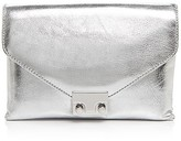 Loeffler Randall Metallic Junior Lock Clutch