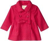 Kate Spade Fit & Flare Coat (Toddler/Kid) - Cabaret Pink - 4