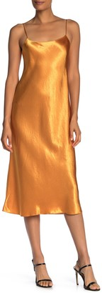 Vince Satin Finish Slip Dress