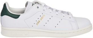 adidas Stan Smith White And Green Sneakers
