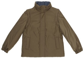 Loro Piana Kids Jack reversible coat