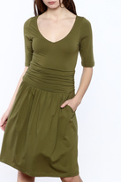 Synergy Olive Marcy Dress
