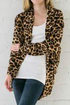 Wanna B Leopard Cardigan