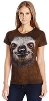 The Mountain Junior's Sloth Face Graphic T-Shirt