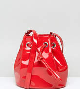 Monki Vinyl Bucket Bag