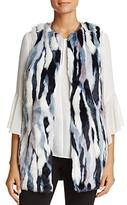 T Tahari Dorinda Faux-Fur Vest