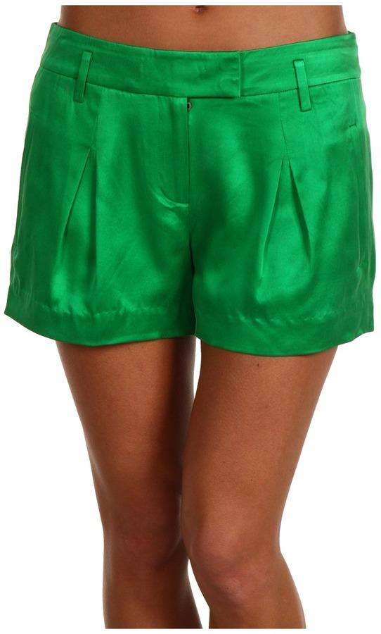 L.A.M.B. Pleated Short (Green) - Apparel