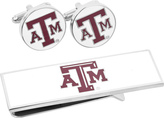 Cufflinks Inc. Men's Texas A & M Aggies Cufflinks/Money Clip Gift Set