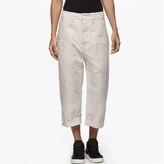 James Perse Linen Welt Pocket Pant