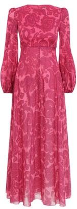 Zimmermann Edie High Neck Dress