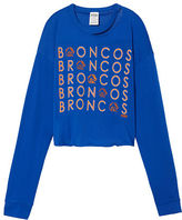 PINK Boise State University Long Sleeve Campus Cutout Tee