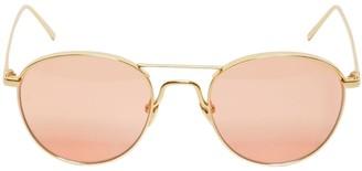 Linda Farrow 632 C4 Round Sunglasses