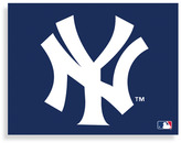 New York Yankees MLB Logo Canvas Wall Art