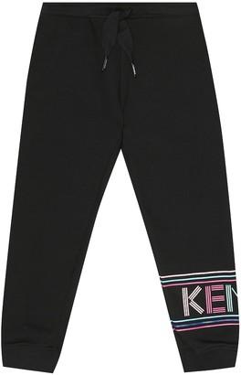 Kenzo Logo cotton-blend trackpants